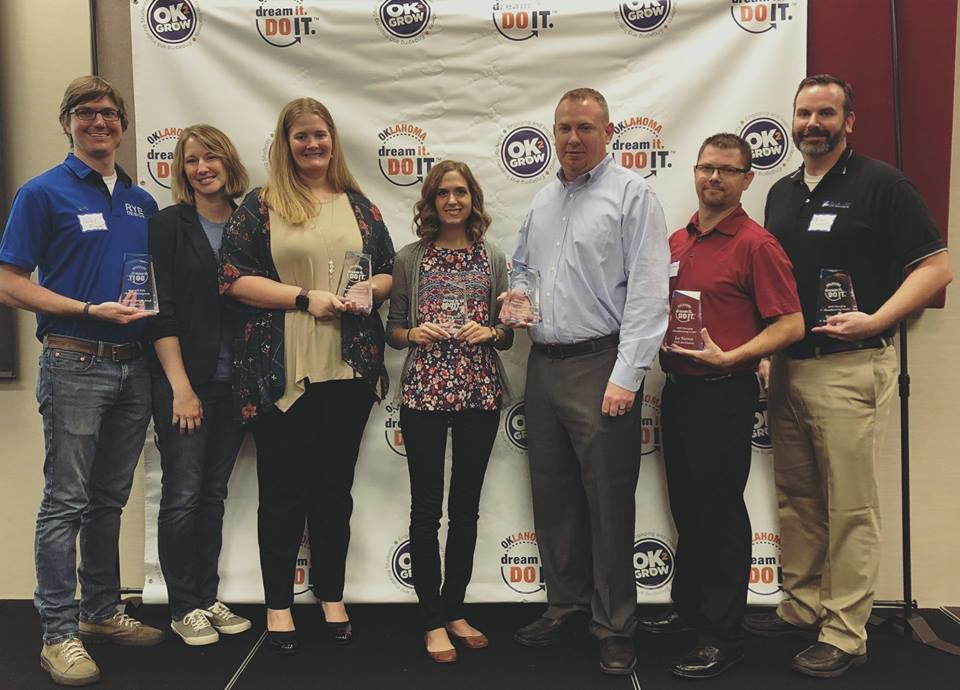 Claremore young professionals recognized as emerging manufacturing leaders in Oklahoma