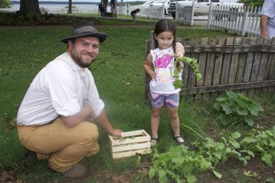 Family Day at the birthplace ranch features kitchen garden fun