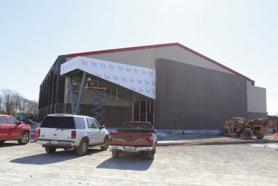 Verdigris Activity Center nearing completion in time for varsity basketball