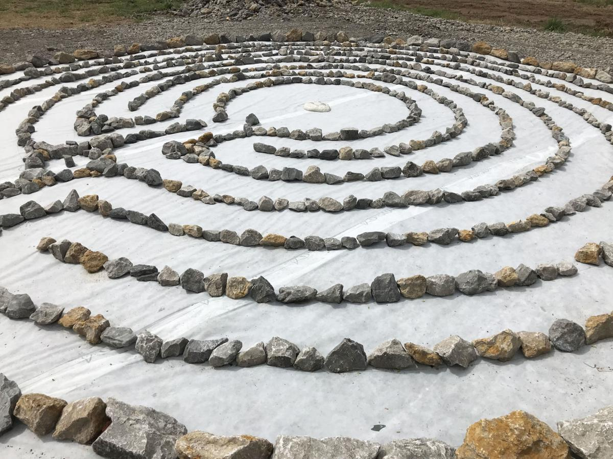 Meditation labyrinth a place for prayer, contemplation