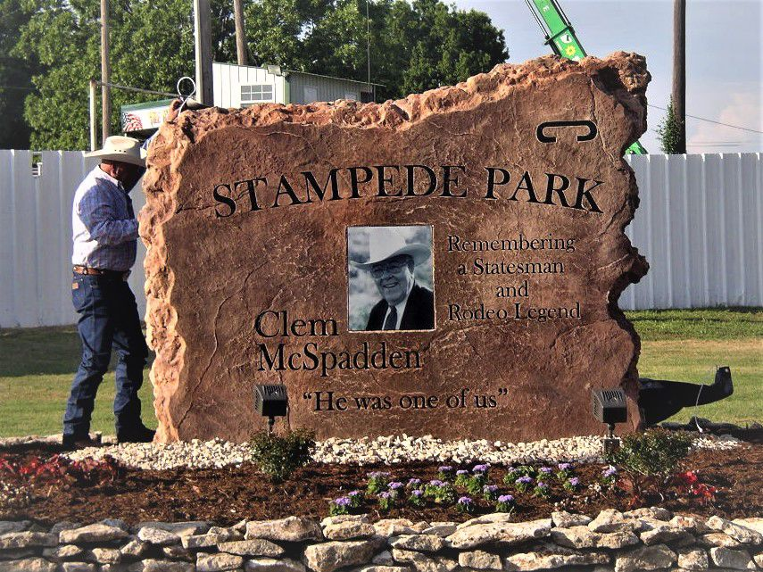 Clem McSpadden honored in Claremore