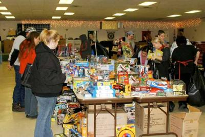 Toys for Tots wrap up