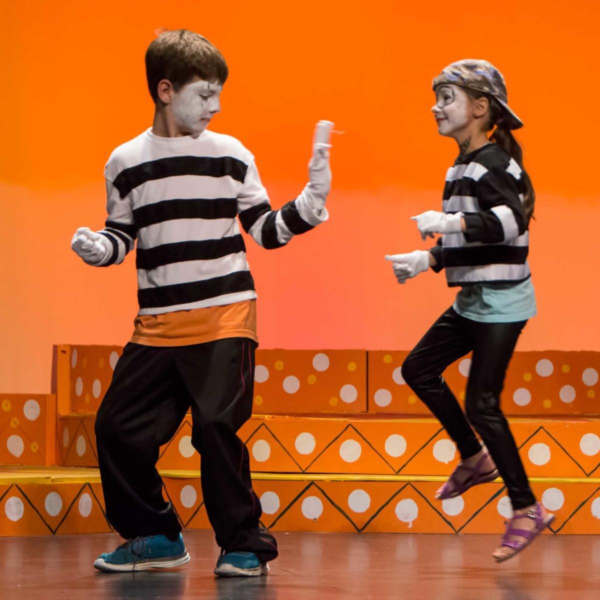 Imagine Action Theatre Camp about self-esteem, making friends