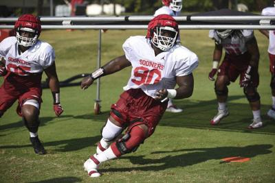 OU football notepad: Oklahoma defensive line working toward more consistency