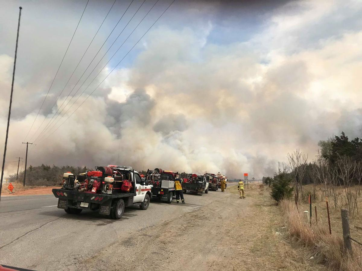Locals join wildfire fight
