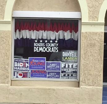 Rogers County Democrats mobilize for upcoming election from new Claremore office