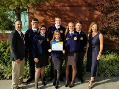 Claremore FFA receives Health and Wellness Grant