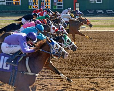 Fall racing season concludes with exciting near 10-way dead heat