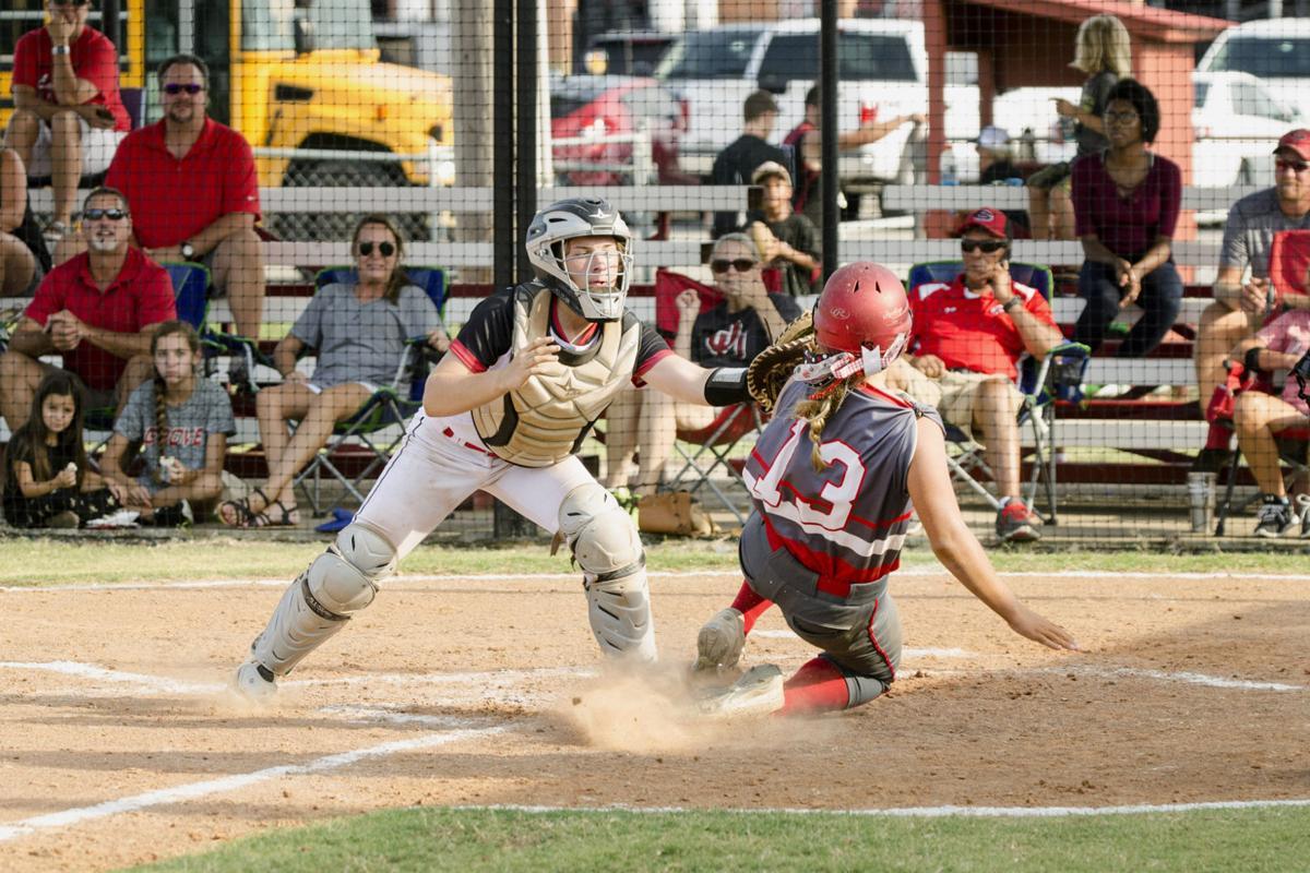 20170810 Claremore vs. Grove softball