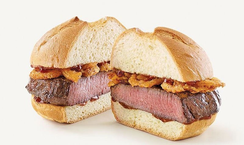 Limited time venison sandwiches one day only at Claremore Arby's