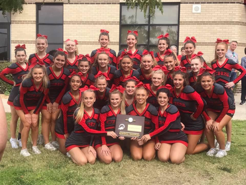 CHS Cheer named regional champs