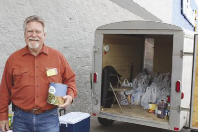 Last year the Meals on Wheels food drive brough in $7,700 in cash and food items.