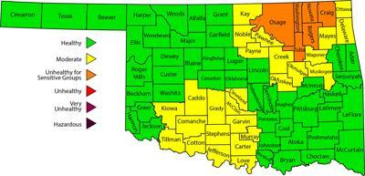 Rogers County under fine particulate matter alert