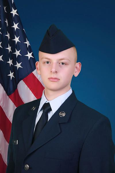 Airman Amos graduated from basic military training