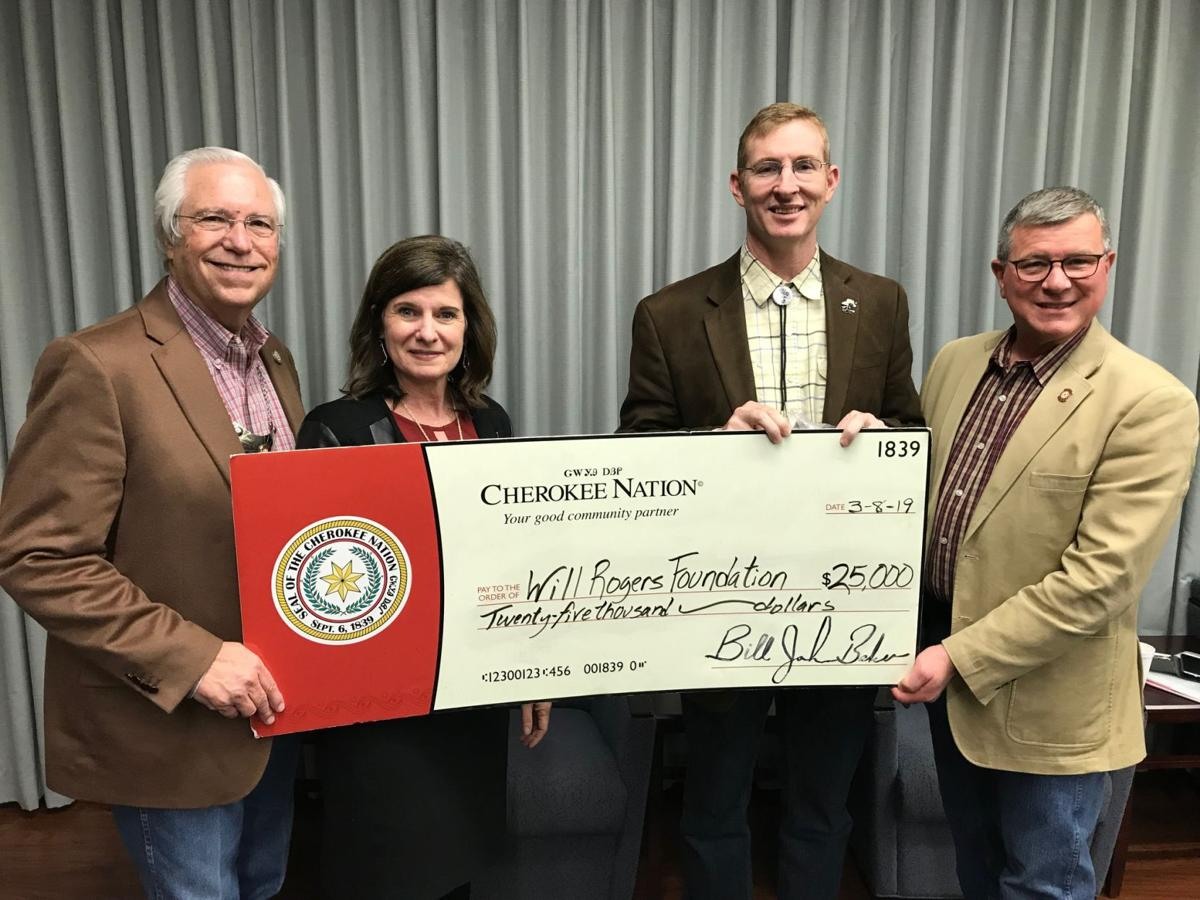Cherokee Nation donates more than $123K to 13 Rogers County organizations