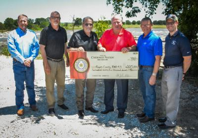 Cherokee Nation provides $225K to Rogers County rural water district impacted by historic flooding
