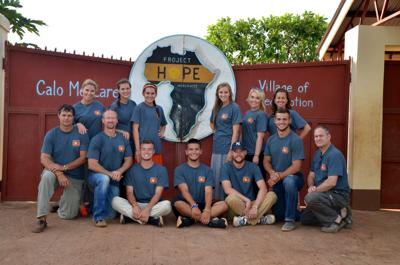 Project Hope mission team from Claremore serves in Uganda