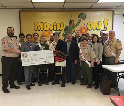 Boy Scouts receive Cherokee Nation grant