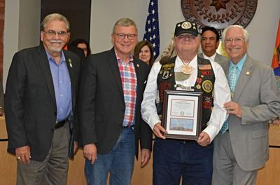 Claremore veteran honored