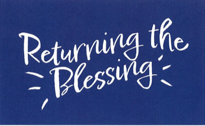 Return the blessing graphic