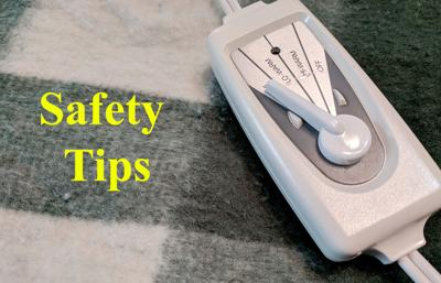 Safety tips for electric blankets, heating pads
