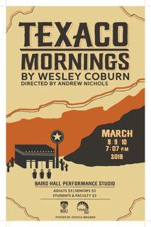 "RSU Theatre to Present ""Texaco Mornings | News"