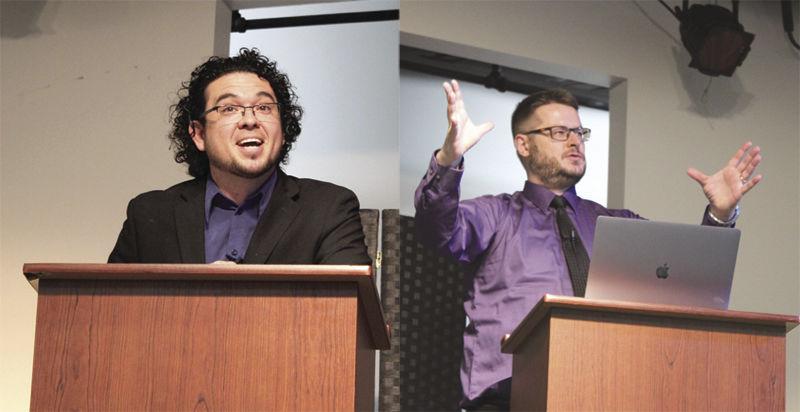Atheist/Christianity debate overflows venue