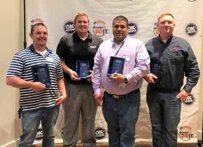 Claremore young professionals recognized as emerging manufacturing leaders