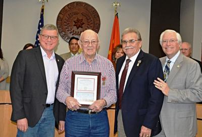 Rogers County veteran honored