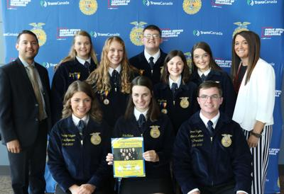 Sequoyah FFA officers attend leadership training conference