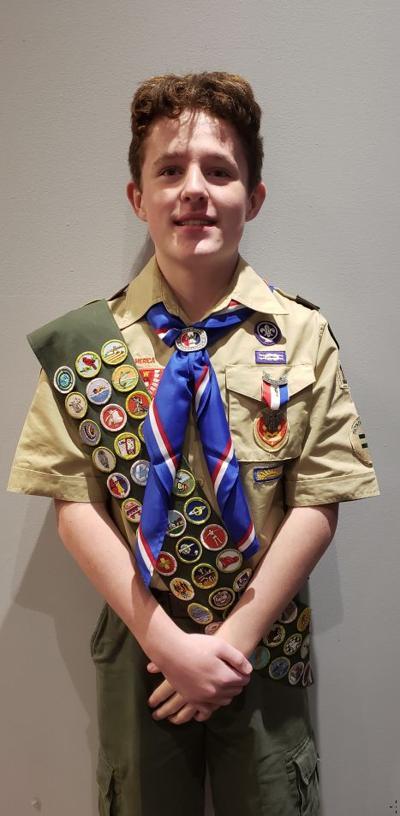 Johnson earns Eagle Scout rank