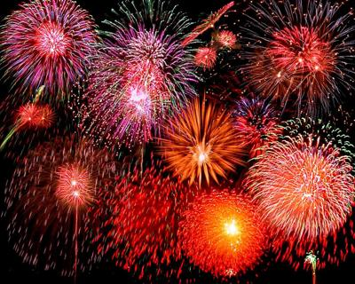 Fireworks approved for New Year's Eve