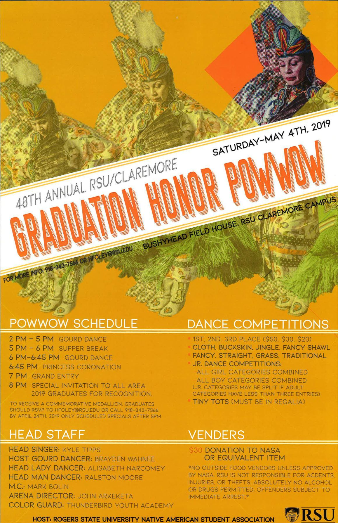 RSU Powwow to feature dance competition, Native American food