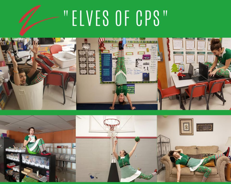 Claremore teacher delights Facebook with Elf on the Shelf photos, poems