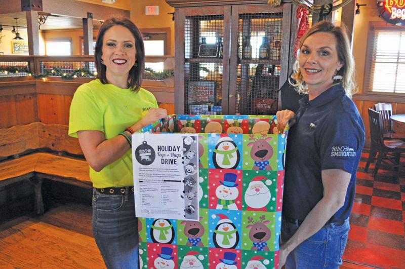 Rib Crib to host 'Toys & Hugs'