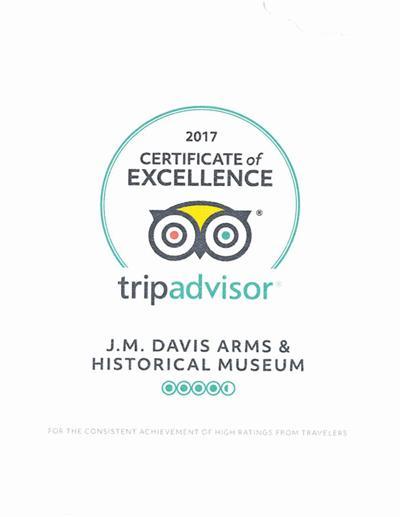 Museum honored by TripAdvisor