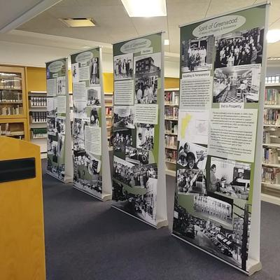 Spirit of Greenwood on display at Claremore Library