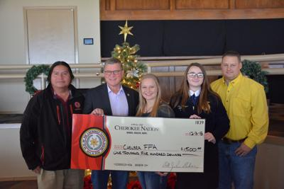 Cherokee Nation supports Chelsea FFA toy drive