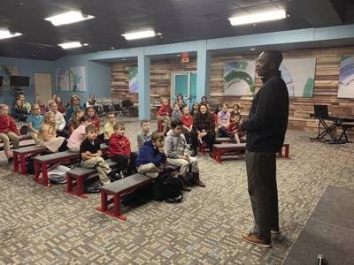 From Ghana to Claremore:Legacy students hear from special guest