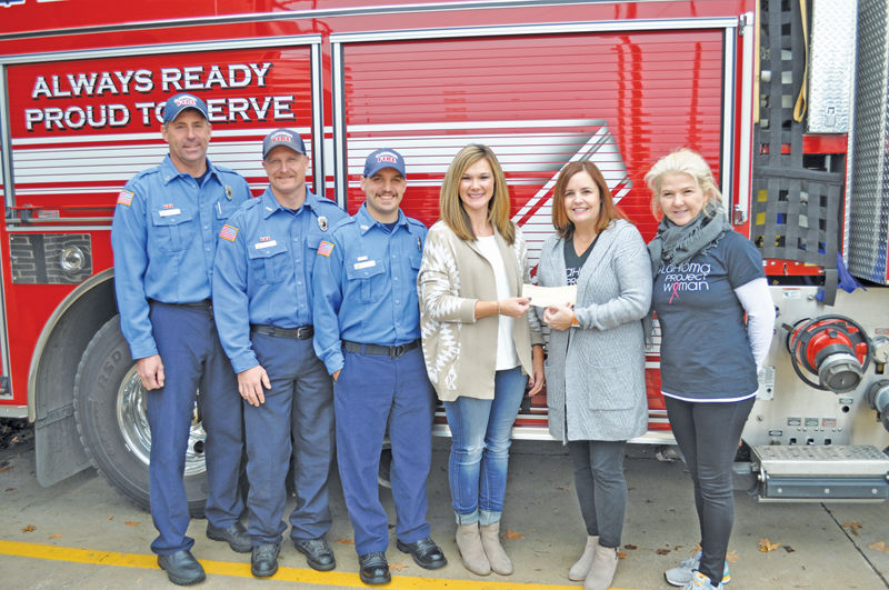 Claremore firefighters against breast cancer