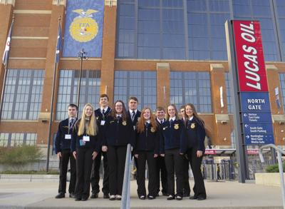 Brokaw FFA attends national convention