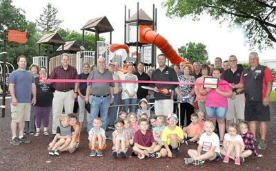 HJ - Playground Structure Ribbon Cutting