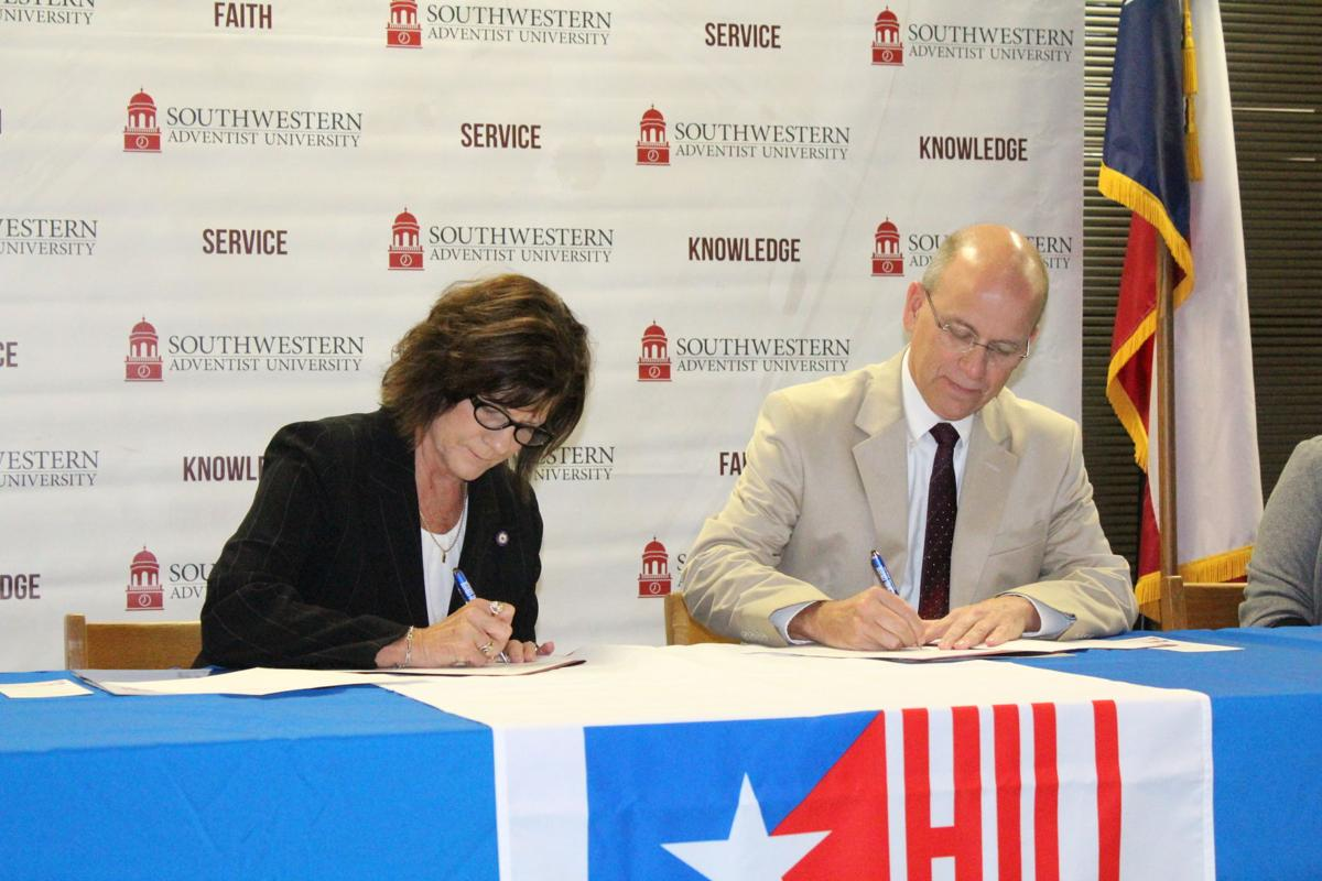 Swau Hill College Sign Articulation Agreement Local News