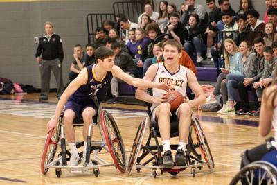 GHS wheelchair basketball
