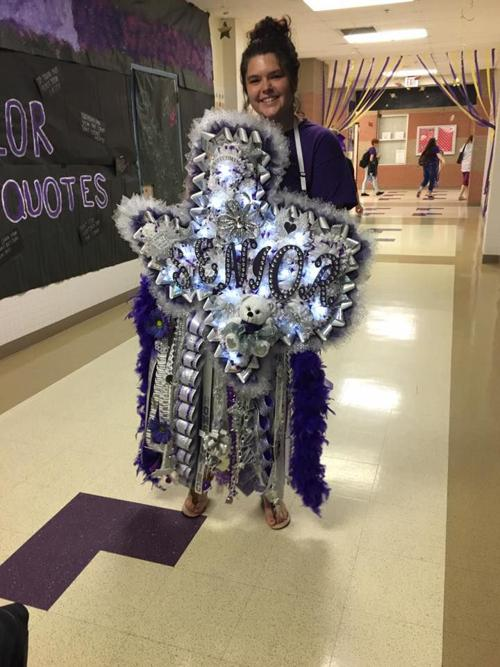 Alvarado High School Senior Garnered Texas Sized Mum For