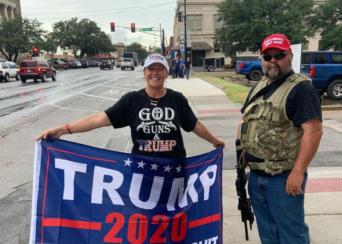 Counter-protestors
