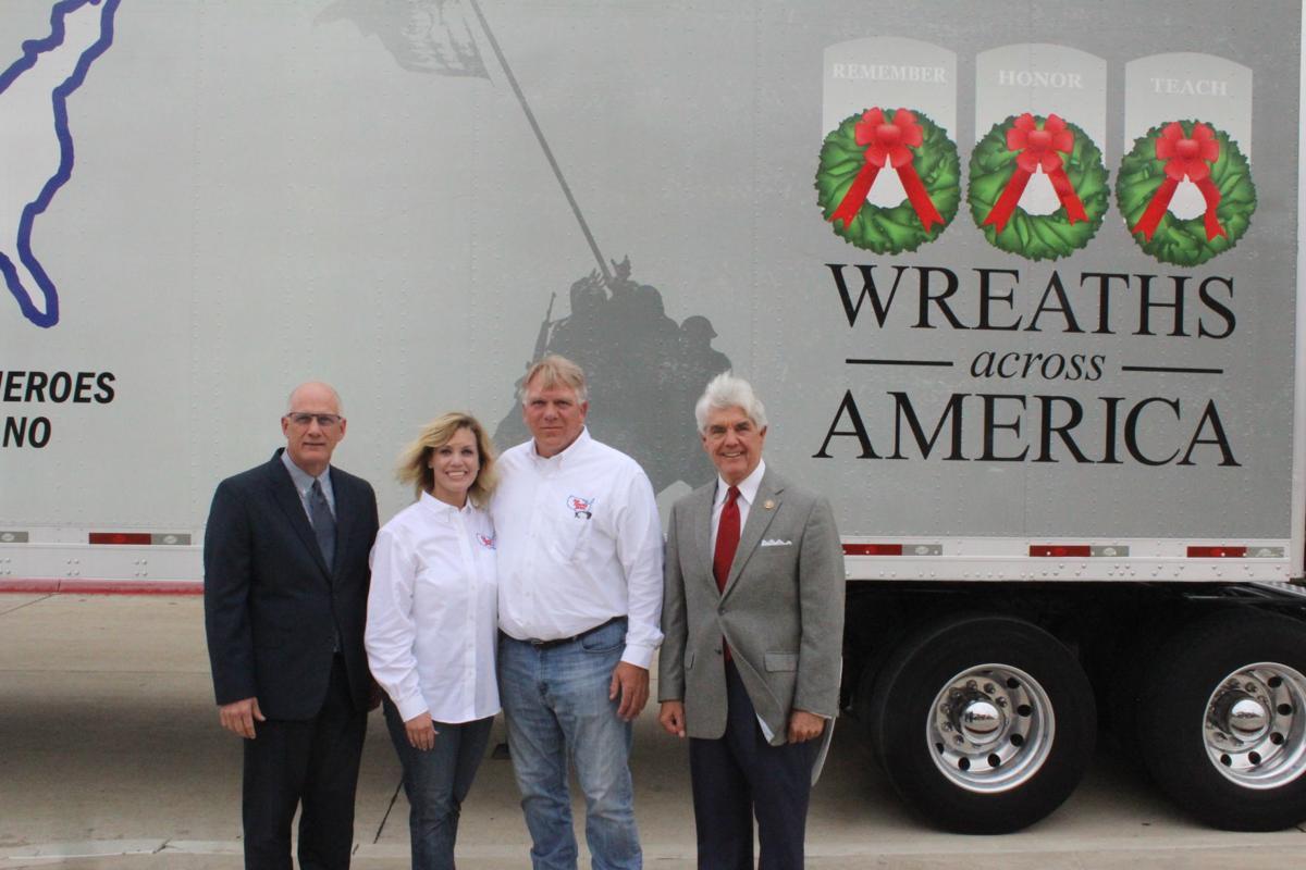 Veterans wreaths