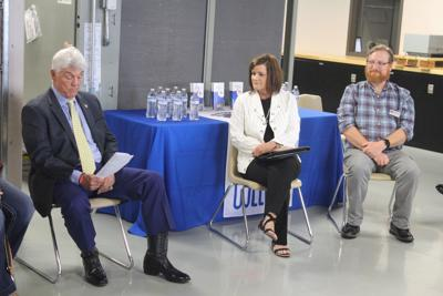 Roger Williams, Pam Boehm and Brian Bennett