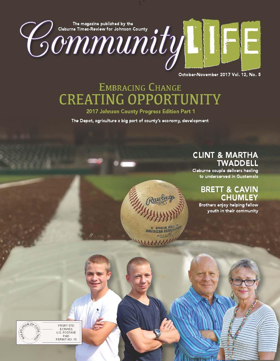 October-November 2017 Community Life magazine