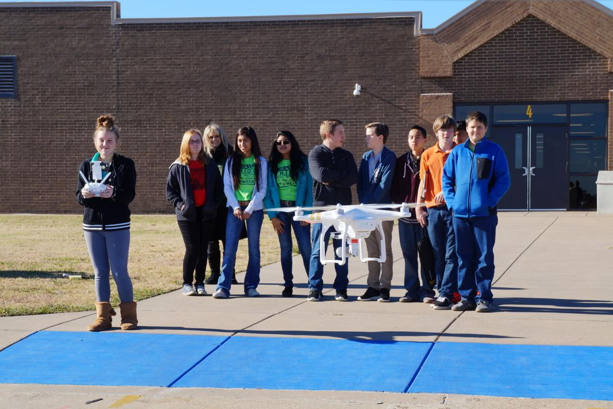 Wms Students Using Drone To Explore Future Careers Local News Cleburnetimesreview Com